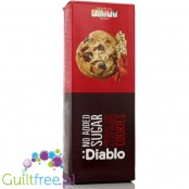 Diablo Cookies with corn & oat flakes with gooseberry