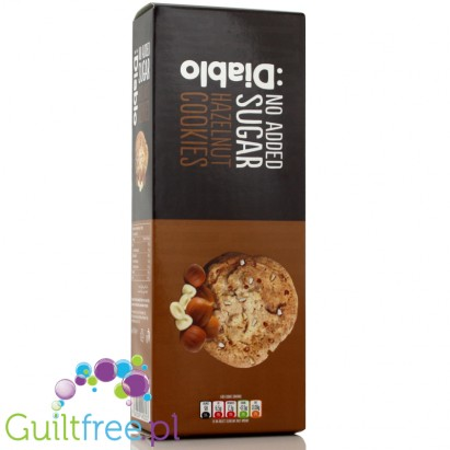 Diablo no sugar added Cookies with corn & oat flakes,