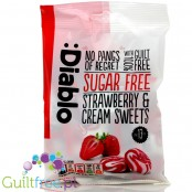 Diablo Sugar Free Strawberry and Cream Sweets