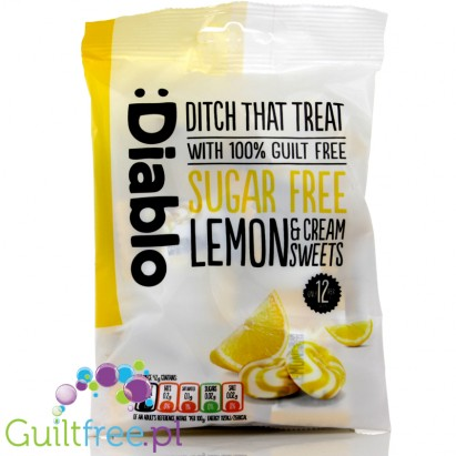 Diablo Sweets Lemon and Cream Sweets