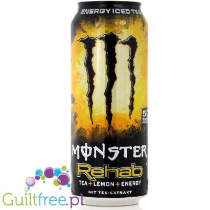 Monster Rehab Energy Iced Tea, 0,5 l