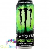 Monster Rehab Green Tea Energy, a non-carbonated energy hypotonic drink with tea-extract