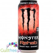 Monster Rehab + Peach Tea + Energy