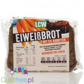 LCW Low Carbohydrate Carrot Bread