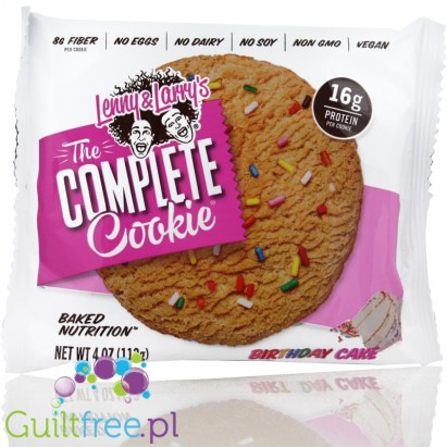 Lenny & Larry Cookie Birthday Cake All Natural