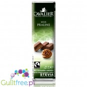 Cavalier Belgian Chocolate, milk praline with stevia