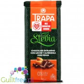 Trapa - Milk chocolate without sugar