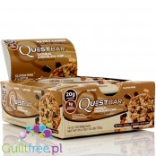 Quest Protein Bar Oatmeal Chocolate Chip Flavor - High-protein bar of oatmeal cookies with chocolate, contains sweeteners