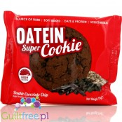 Oatein Super Cookie, Double Chocolate Chip High Protein Cookie