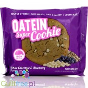 Oatein Super Cookie, White Chocolate Blueberry High Protein Cookie
