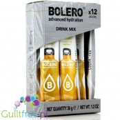 Bolero Sticks Stevia Lemon, instant drink, 12 sachets