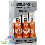 Bolero Instant Fruit Flavored Drink with sweeteners, Orange - Powder Mix for preparing an orange flavored drink with sweeteners
