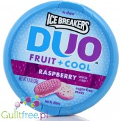Ice Breakers Duo Raspberry sugar free mints with cooling crystals