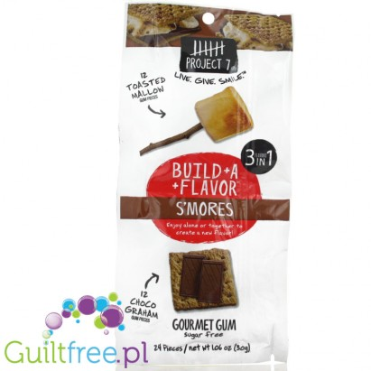 ZZProject 7 Build-a-Flavor - S'mores Sugar Free