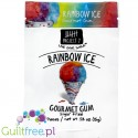 Project 7 Rainbow Ice sugar free chewing gum - Sugar-free chewing gum flavored with fruit ice cream, contains sweeteners