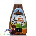 WK Nutrition Good Syrup Salty Caramel, a sweetened caramel flavored syrup, contains sweeteners