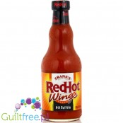 Frank's Red Hot Buffalo Wings pikantny sos bez cukru i MSG, 354ml