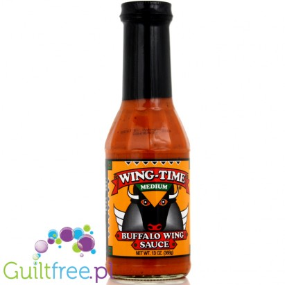 ZZWing Time, Buffalo Wing Sauce, Medium