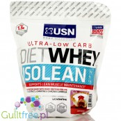 USN Ultra-Low Carb Diet Whey Isolean high protein shake