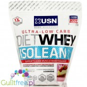 USN Ultra-Low Carb Diet Whey Isolean trawberry cheesecake flavor