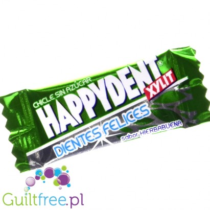 Happiness Xylit chewing gum peppermint flavored pepper