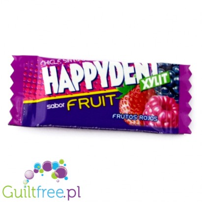 Happiness Xylit - sugar-free chewing gum flavored with forest fruits