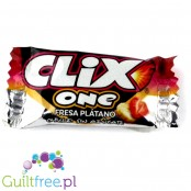 Clix Banana-strawberry flavored chewing gum