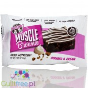 High Protein Triple Chocolate Cookies with Creamy Glucose 100% Natural Ingredients