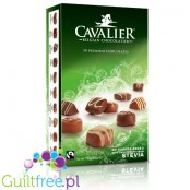 Cavalier Belgian Chocolatier Stevia no sugar added premium chocolates