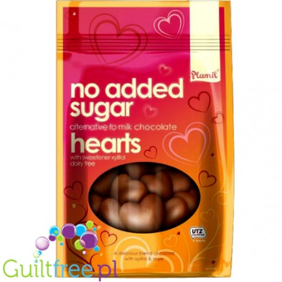 Chocolate Hearts with xylitol