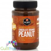 Dr. Zak's high protein peanut spread chocolate & orange
