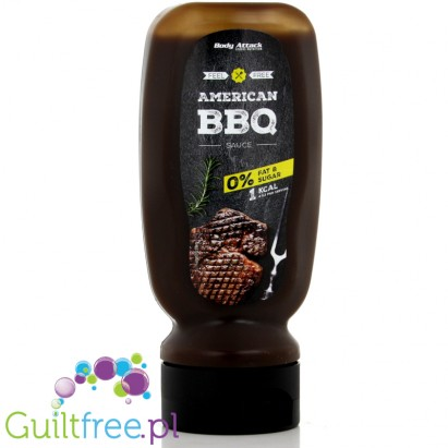 Body Attack American BBQ Sauce - Barbecue sauce, contains sweeteners