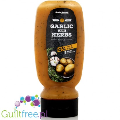 Garlic & Herbs Sauce 320 ml from Body Attack