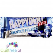 Happydent Xylit chicles sin azucar con sabor a menta - sugar-free mint flavor Chewing gum , contains sweeteners