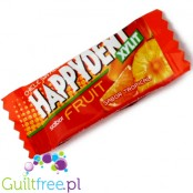 Happydent Xylit chicles sin azúcar con tropical fruit - Sugar-free chewy gum with exotic fruit flavor, contains sweeteners