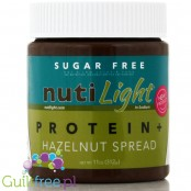 Nuti Light Protein Gluten-Free Chocolate & Hazelnut Spread