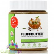 D's Naturals Protein Infused Peanut Fluffbutter, Salted Caramel Sundae