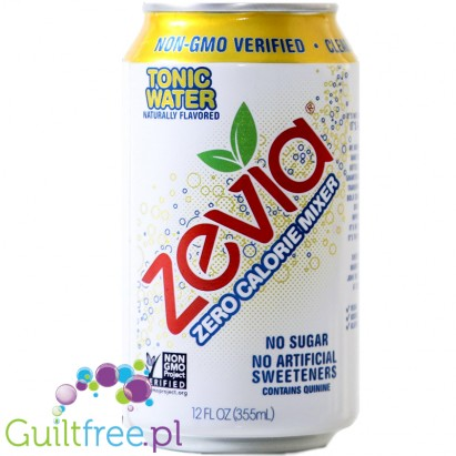 Zevia Tonic - a carbonated tonic