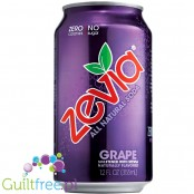 Zevia Grape - a carbonated beverage with a grape