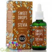 Good good sweet drops of stevia, vanilla flavor