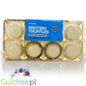 Body Attack Protein Truffles with 33% Protein, White Chocolate Coconut Flavor