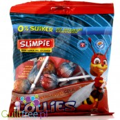 Slimpie - Sugar-free lollipops with cola, straw
