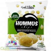 Hummus chickpeas chips with Italian herbs