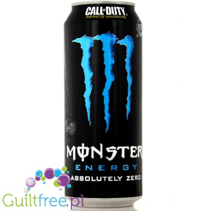 Monster Energy Absolutely Zero - Napój Energetyczny 0kcal