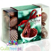 Belgian Chocolate Seashells, no sugar added and high in fiber
