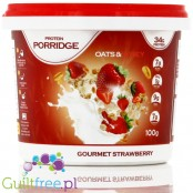 Feel Free Nutrition Protein Porridge - strawberry