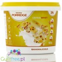 Feel Free Nutriton Protein Porridge Oats & Whey Bananalicious - High Protein Porridge without sugar, banana flavor