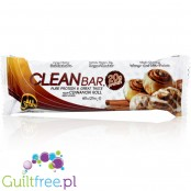All Stars Clean Bar Cinnamon Roll - high-protein cinnamon chocolate protein bar, contains sugar and sweeteners