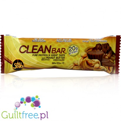 All Stars Clean Bar Peanut Butter & Chocolate