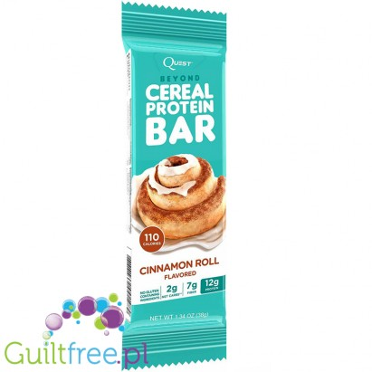 Quest Beyond Cereal Cinnamon Roll